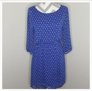 Everly Blue High Low Dress
